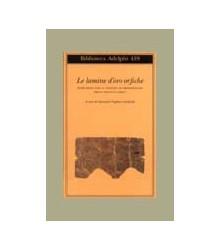Lamine D'Oro Orfiche....