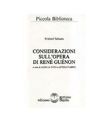 Considerazioni sull'Opera...
