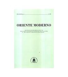 Oriente Moderno Anno XXV,...