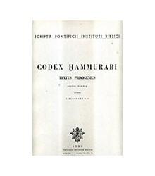 Codex Hammurabi. Textus...