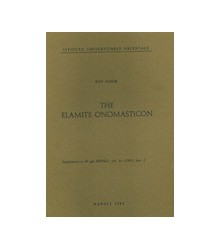 The Elamite Onomasticon