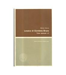 Lessico di Giordano Bruno