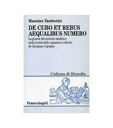 De Cubo et Rebus Aequalibus...