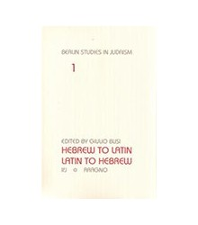 Hebrew To Latin. Latin To...