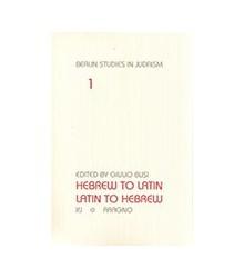 Hebrew To Latin. Latin To...