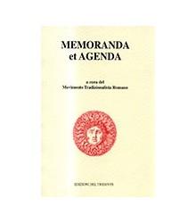 Memoranda et Agenda