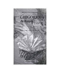 Gregorio da Rimini Filosofo