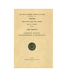 Edilità Roma: Magistratura...