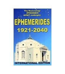 Ephemerides 1921 - 2040