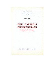 Due Capitoli Prudenziani
