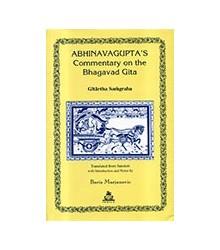 Abhinavagupta' s Commentary...