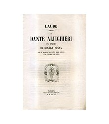 Laude Inedita di Dante...