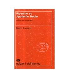 Ricerche Su Apollonio Rodio