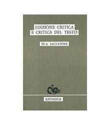 Edizione Critica E Critica...