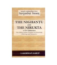 The Nighantu and the Nirukta