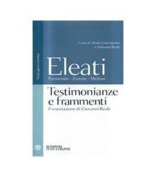 Eleati. Parmenide - Zenone...