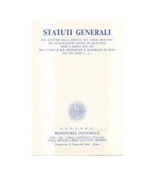 Statuti Generali
