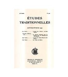Études Traditionnelles