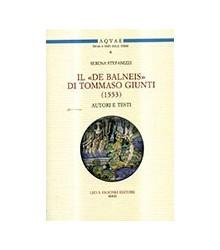 Il «De Balneis» di Tommaso...