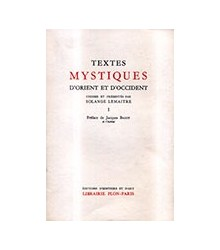 Textes Mystiques d'Orient...