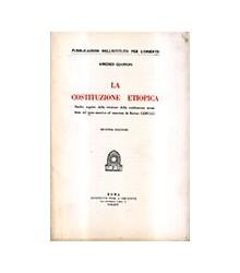 La Costituzione Etiopica