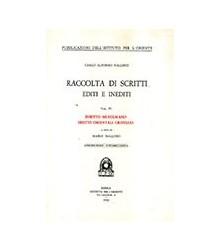 Raccolta di Scritti Editi e...