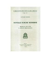 Novelle Turche Moderne