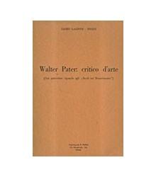 Walter Pater: Critico d'Arte