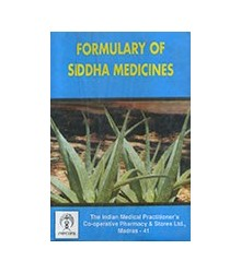 Formulary of Siddha Medicines