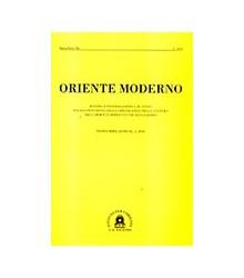 Oriente Moderno Anno XC, 2...