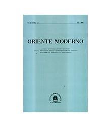 Oriente Moderno Anno XX...