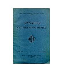 Annales de l'Institut...