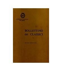 Bollettino dei Classici