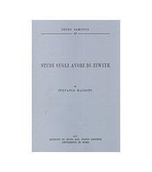 Studi sugli Avori di Ziwiye