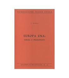 Europa Una: Forma e...