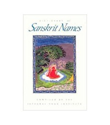 Dictionary of Sanskrit Names