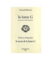 La Lettre G. Les Mystères...