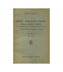 Lessico Etimologico-Pratico...