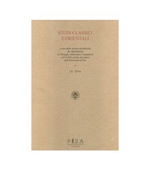 Studi Classici Orientali -...