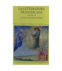 La Letteratura Francescana