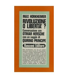 Rivoluzione o Libertà?