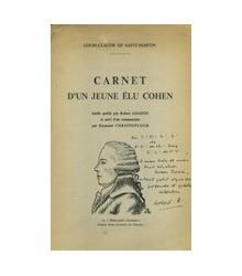 Carnet d'un Jeune élu Cohen