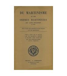 Du Martinisme et des Ordres...