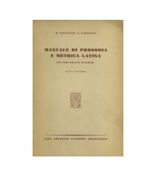 Manuale di Prosodia e...