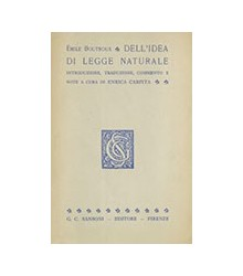 Dell'Idea di Legge Naturale