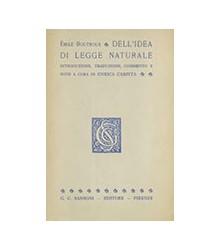 Dell'Idea di Legge Naturale