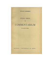 Opera Omnia - Vol. II -...