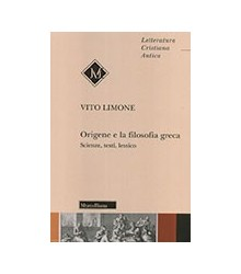 Origene e la Filosofia Greca