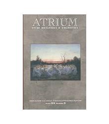 Atrium - Anno XIX Numero 3...