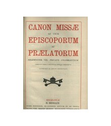 Canon Missæ Ad Usum...